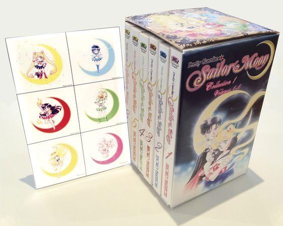 Sailor Moon Graphic Novel Box Set 1 (Vols 1-6)