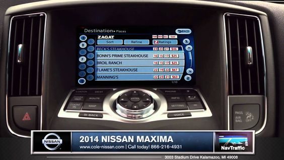 2014 Nissan Maxima Performance Grand Rapids Michigan #icarvideo | Grand  Rapids Nissan | Pinterest | Nissan Maxima And Nissan