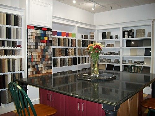 Delightful Countertop Selection Area At Kitchen Views, Mansfield, MA #countertops