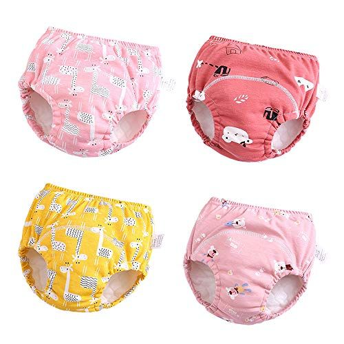 Toilet Training Pants Kids Baby Boy Girl Toddler Potty Training Diaper Underwear