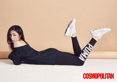 Shin Se Kyung Terlihat Sporti dalam Pictorial PUMA