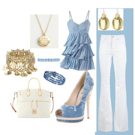 There's a Set of Baby Blues, created by meg-sullivan on Polyvore