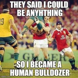What a rugby player can do.. More about Rugby Sport Stuff: Follow Rugby Drills on Tumblr!
