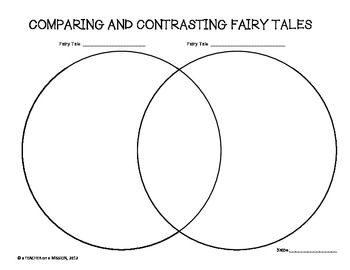 compare contrast fairy tale Fairy tales was one of the first units i ever created  in columns to the right,  write the name of the stories to compare/contrast at the top of the column (ex:.