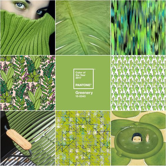 Pantone Colour of the Year 2017 – Greenery:
