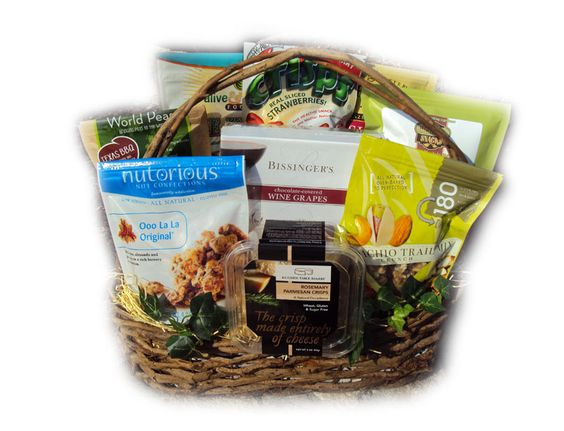 The healthy assistant gift basket for secretary 39 s day for Gift ideas for assistants