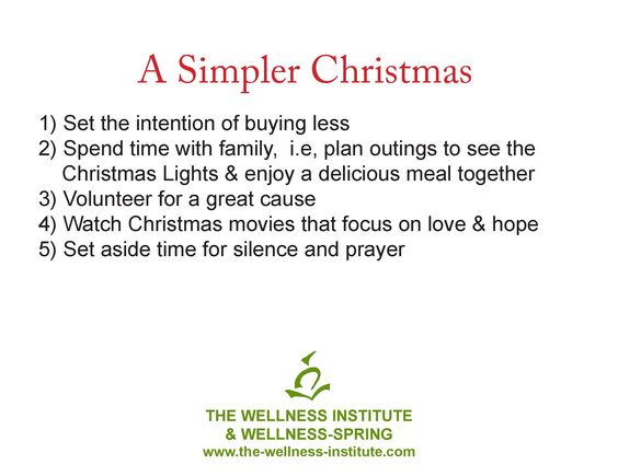 Did You Know That You Can Have A Simple Christmas Without The Stress Many People Usually Experience At This Time Of Year Simple Christmas How To Plan Feelings