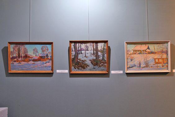 Экспозиция выставки «Зимние мистерии или Время новогодних чудес». Фото Жени Шведы
