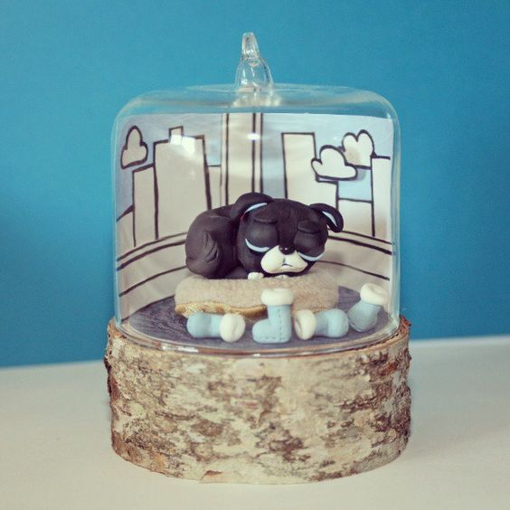 https://flic.kr/p/sc5AAP | Another dome done up for 'the Bookmark's window display to go along with  #thepupfromaway book launch
