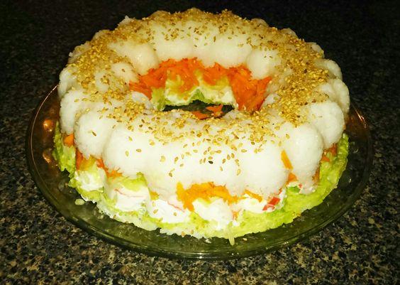 Rosca de sushi!!!!!
