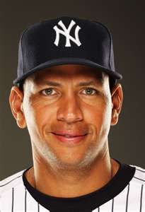 Alex Rodriguez Alex Rodriguez #13 of the New York Yankees poses for a ...