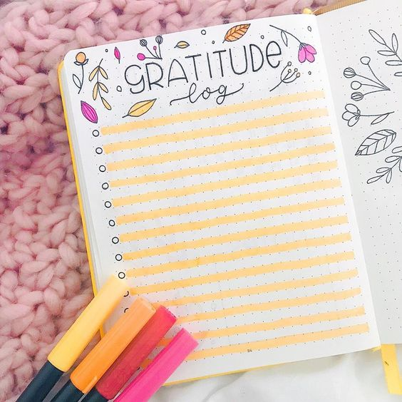 Tuto gratitude log