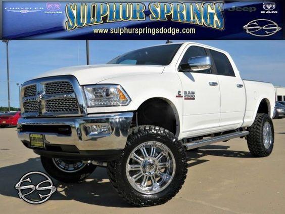 2015 Ram 2500 Laramie! 6 Inch Lift, 22 Inch XD Rims, and ...