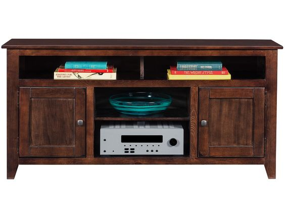 Slumberland Wrigley Collection Dark Pine 2 Door