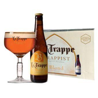 Bia La Trappe Blond Qùa Tặng 6,5% - Chai 750ml - Bia Nhập Khẩu