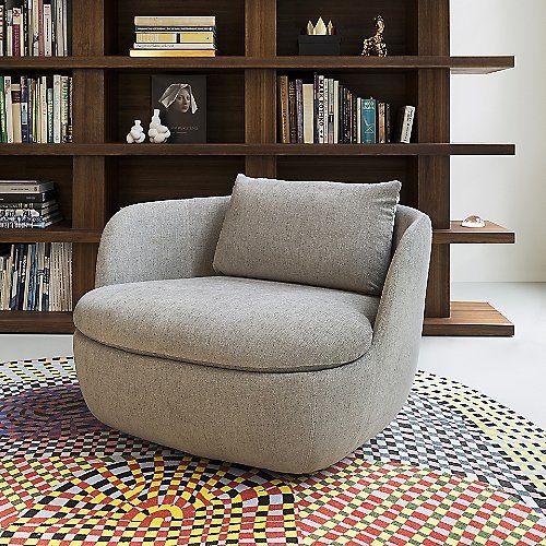 Bart Swivel Armchair By Moooi At Lumens Com Swivel Chair Living Room Armchair Swivel Armchair