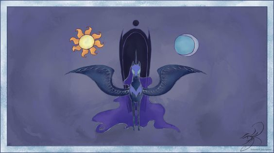 Nightmare Moon: What if she took over?