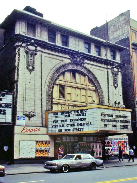 empire theater opened in 1912 as eltinge 42nd st theater