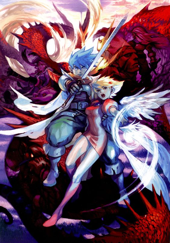 Breath Of Fire gaming artwork Pinterest Breath of