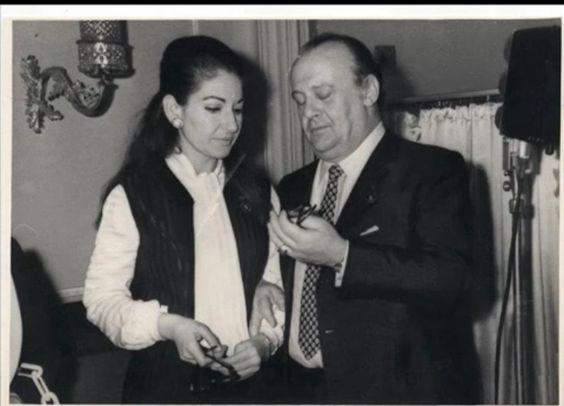 Maria Callas in Russia con Tito Gobbi  - 1970: