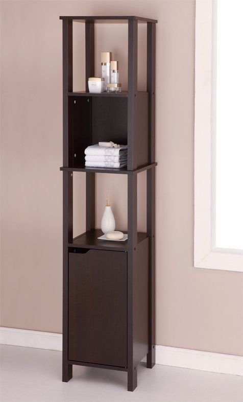 30+ Espresso linen cabinet for bathroom storage type