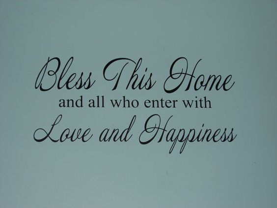 Bless This Home and all who enter with love by CutesyandCreative, $15.00