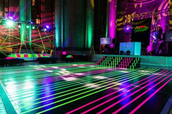 Inspired By An Image Of Laser Lighting Evoke S Design