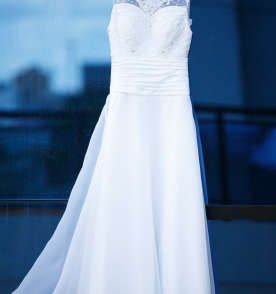 Meu Vestido de Noiva romântico à venda no Enjoei.com por precinho mui amigo ;)