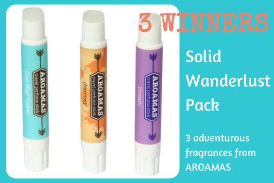 Win the Solid Wanderlust Pack from Aroamas - take the Her Packing List survey to be entered in the draw.