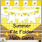This is a great game for extra Math practice in the summer. Your kids will love the fun lemonade stand theme!  Skills practiced in this game: -mone...