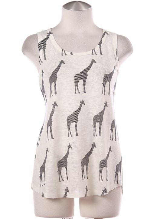 Giraffe Open Back