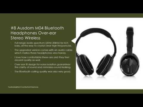 ▶ Top 10 BlueTooth Earphones with Mic - Best Wireless Earphones Reviews - YouTube http://www.slideshare.net/AmazingSharing/top-10-bluetooth-earphones-with-microphone-reviews/