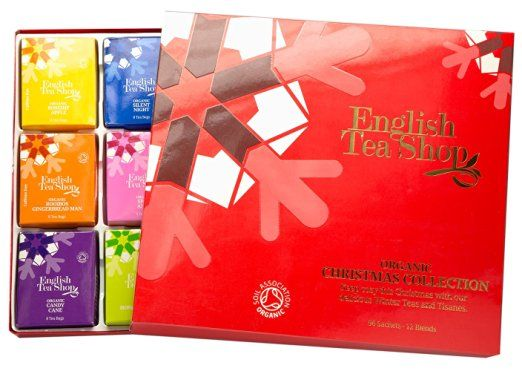 "Tee-Kollektion ""Red Christmas"", Teegeschenk, BIO, 96 x…"