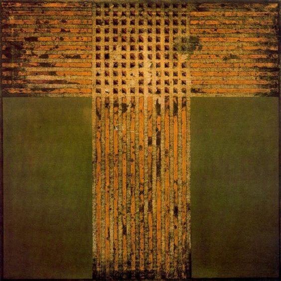 Vicente Rojo, 'Negación 801, 1974, óleo sobre lienzo, 80 x 80 cm. México / arte, pintura, mexican art, latin art: