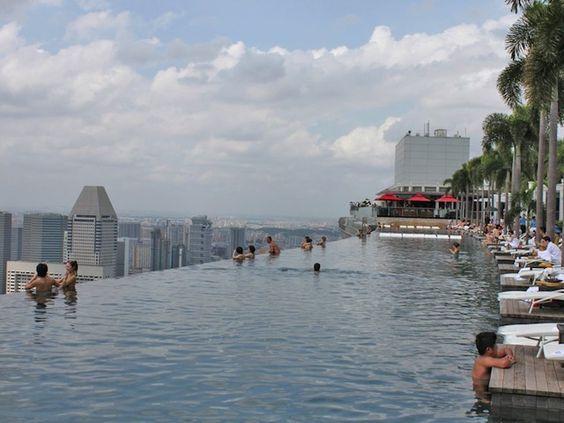 Piscina en altura, Singapur