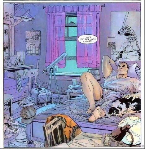 PIPOCA COM BACON - As Várias Faces do Superman: As Quatro Estações (For All Seasons) #PipocaComBacon  Superman As Quatro Estações_01 de 04_Primavera02