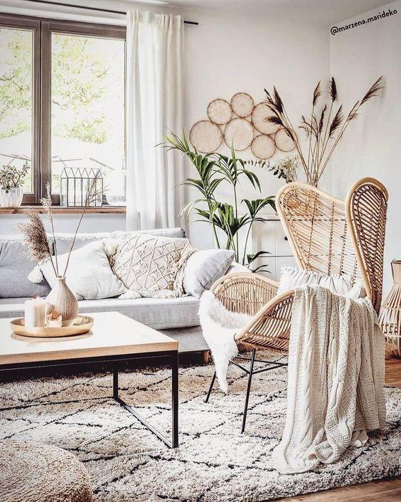 Boho & Scandi - Die natürlichen Elemente des Boho-Stils treffen auf moderne, inspirierende Dekorationen ...