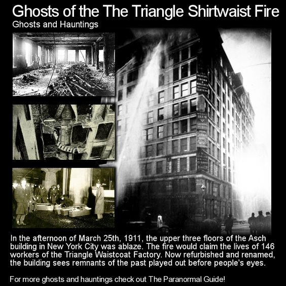 the tragedy of the triangle shirtwaist The triangle shirtwaist tragedy sparked union organizing efforts and a wide  range of new safety laws yet even those reforms were vigorously.