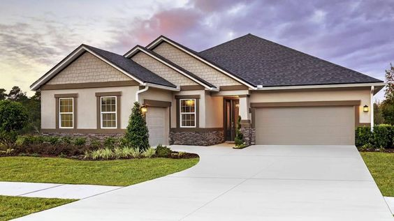 The Dalton model home by Richmond American Homes