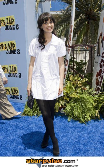 """Zooey Deschanel Pictures & Photos - The Premiere of Columbia Pictures and Sony Pictures Animations """"SURFS UP"""""""