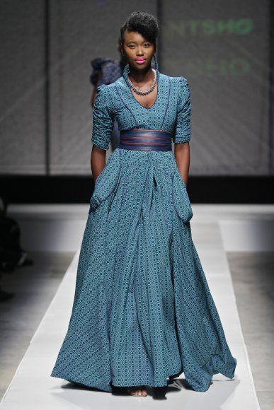 Mantsho South African Fashion week 2011