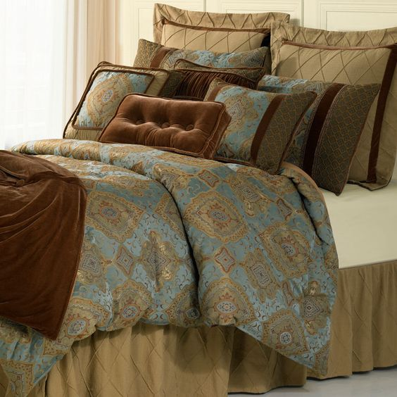 The Bianca Collection   Shop this and other beautiful luxury bedding at  Anderson Avenue. The Bianca Collection   Shop this and other beautiful luxury