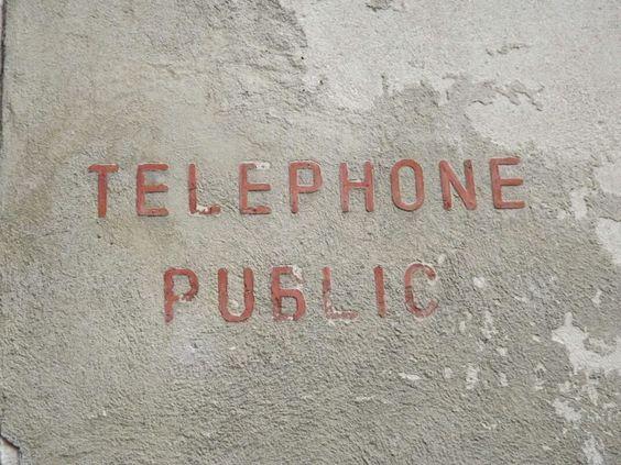 Alsace Téléphone Public