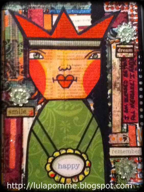 February 2013 Altered Book!