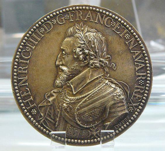 Henri IV en Hercule gaulois - Cabinet des Médailles Paris:
