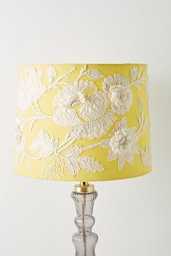 Majorcan Garden Lamp Shade Lamp Shade Anthropologie Lamp Yellow Lamp