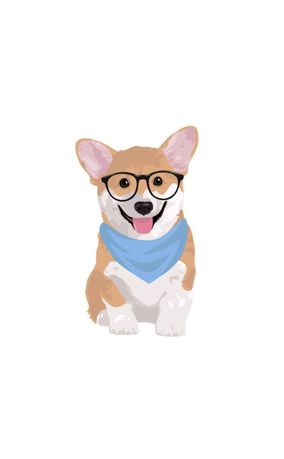 #Hipster #Corgi. #Casetify #iPhone #Art #Design #Illustration #Dogs #Animals #Cute #Cool #Wallpaper
