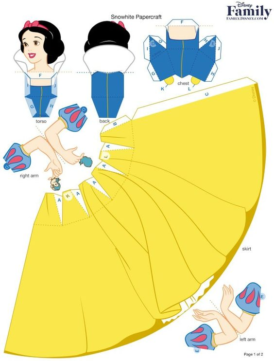 Princess Snow White - Branca de Neve