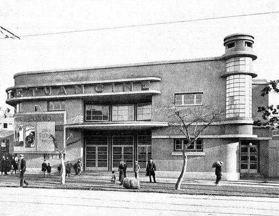 Cine Tetuán. Estaba situado en Bravo Murillo 238. Fue inaugurado en 1931 y cerró en 1987. Foto: Blog de Urbancidades