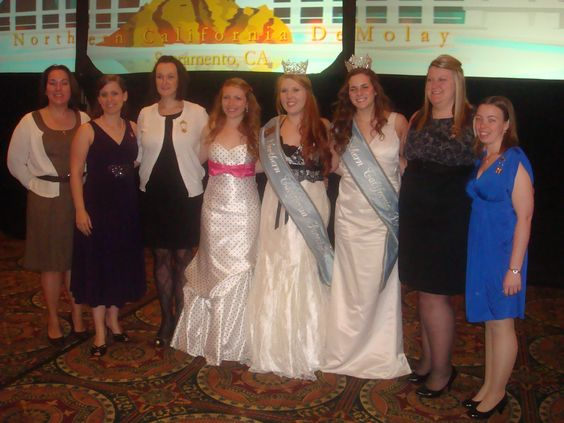 Past and present Jurisdictional girls  Convention 2010